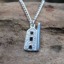 Cornish tin mine pendant P84